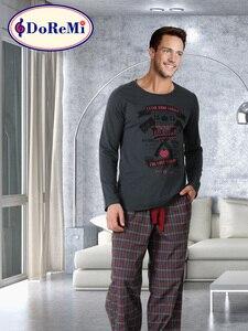 хлопок 2 куска Высокое качество пижама мужская - штаны мужские - пижамные штаны - домашние штаны - мужская пижама - мужские комплекты - пижама д...