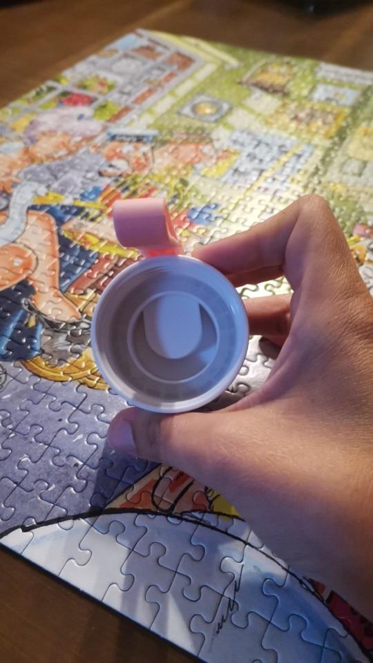 560ml Water Bottle Leak Proof for Girl Biking Travel Portable Water Bottles Plastic H1177|Water Bottles|   - AliExpress