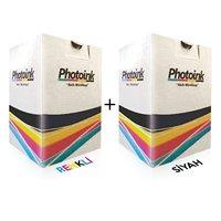 Black and Color Cartridge Refill for Canon MX360 Set-20 Dolumluk