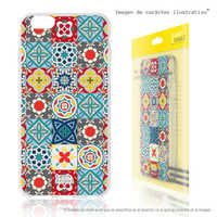 FunnyTech®Stand case for Wiko Lenny Silicone 4 L Mosaic floral vers.4