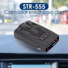 STR-555 Auto Radar Detektor Engels Russisch Thai Stimme Auto Voertuig Snelheid Alert Alarm Waarschuwing X K Anti Radar Detektor EINE