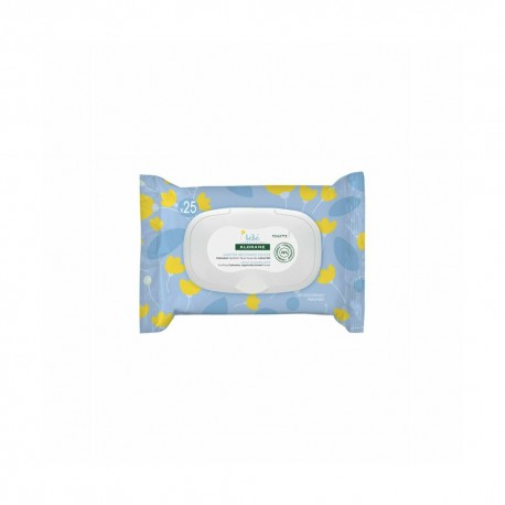KLORANE BEBE HAND & FACE WIPES 25 UNITS