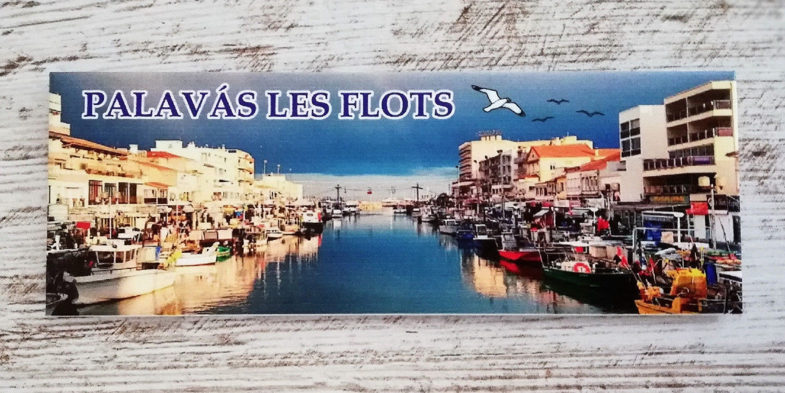 Palavas‑les‑Flots fridge magnet soveninir france gift travel