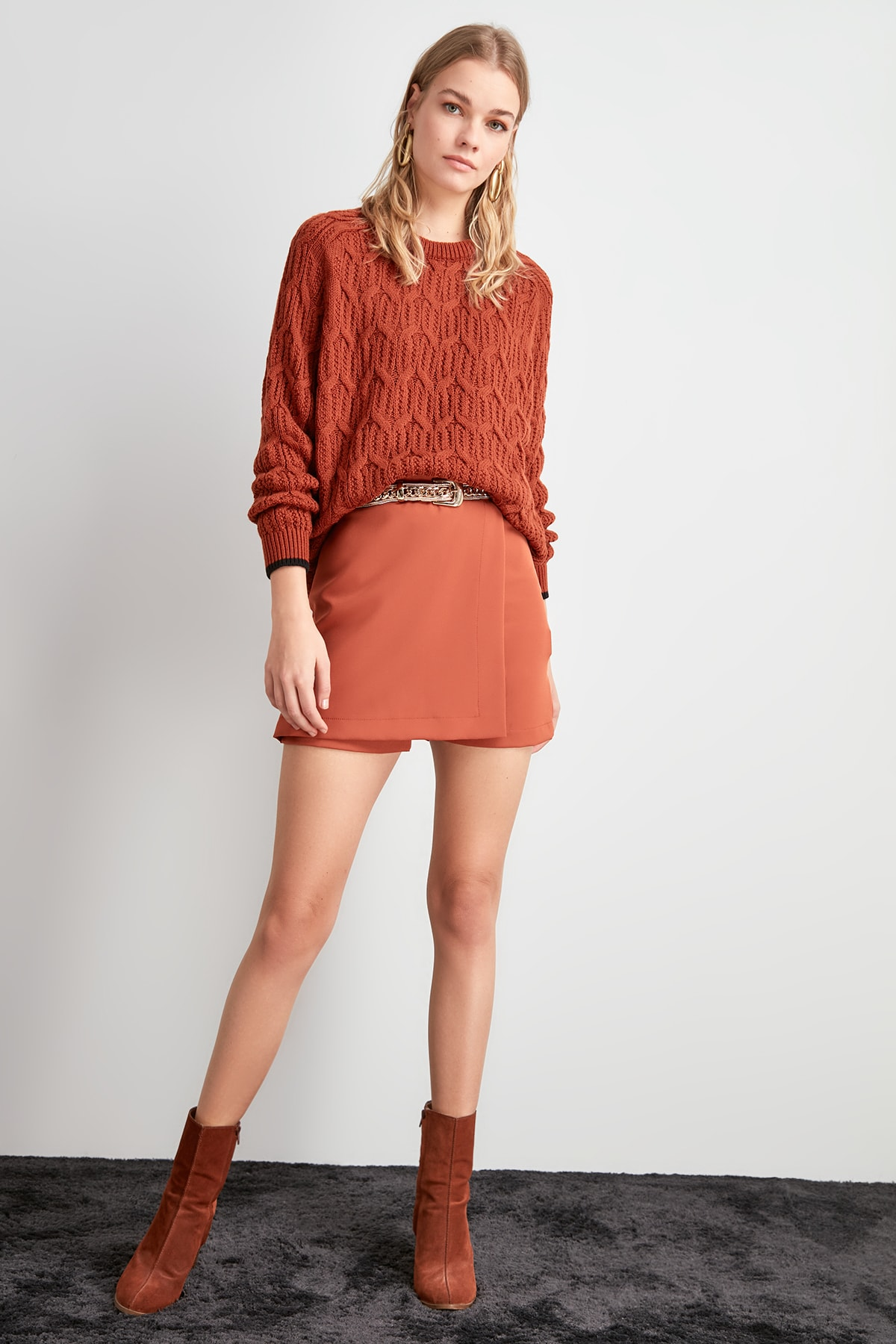 Trendyol Mini Shorts & Bermuda TWOAW20SR0072