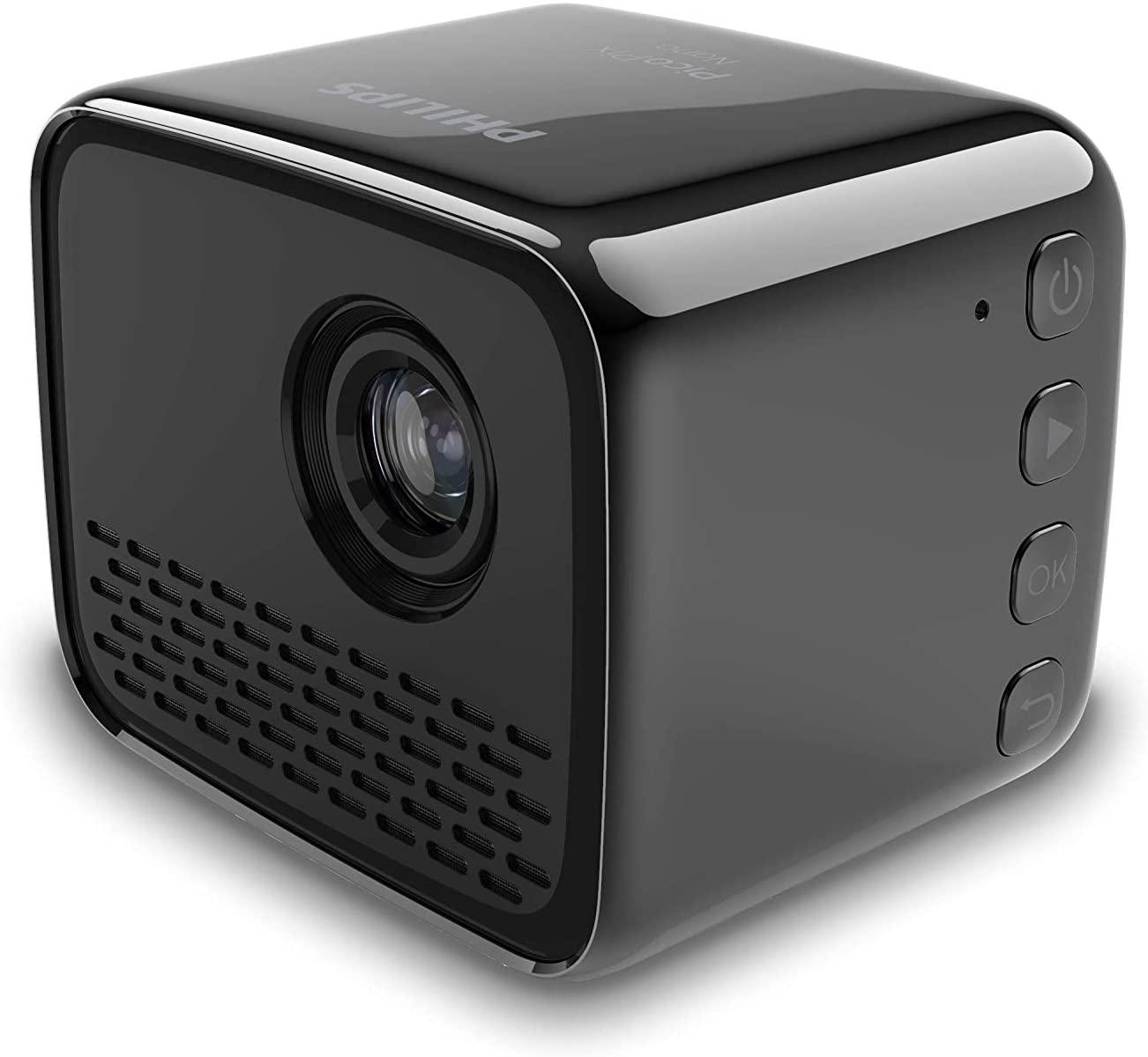Проектор Philips PicoPix Nano PPX120/INT (Black)|Проекционные экраны| | АлиЭкспресс