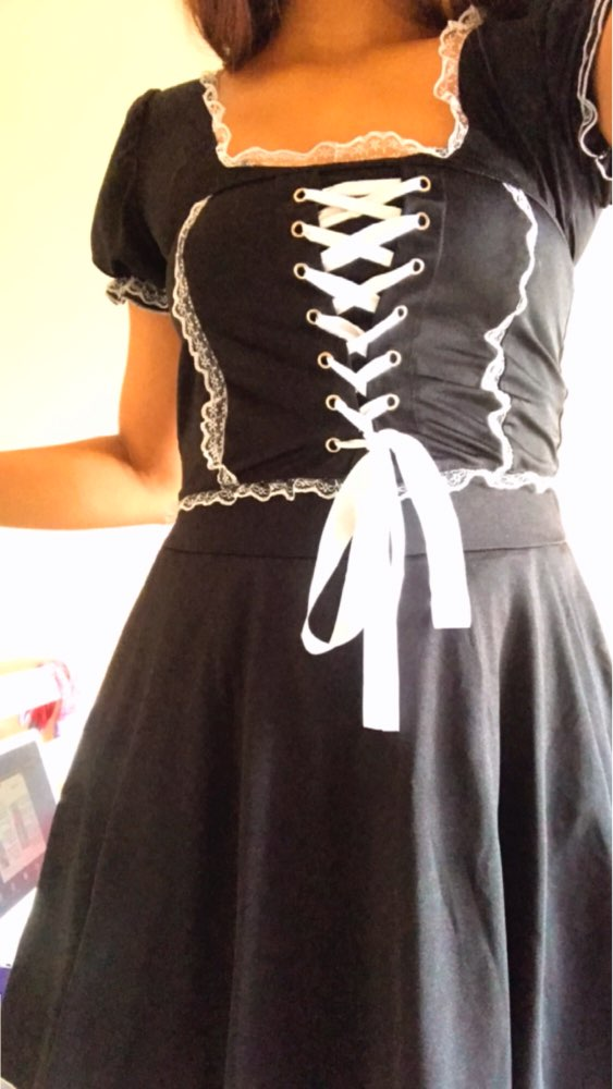 Gothic Lace Dress photo review