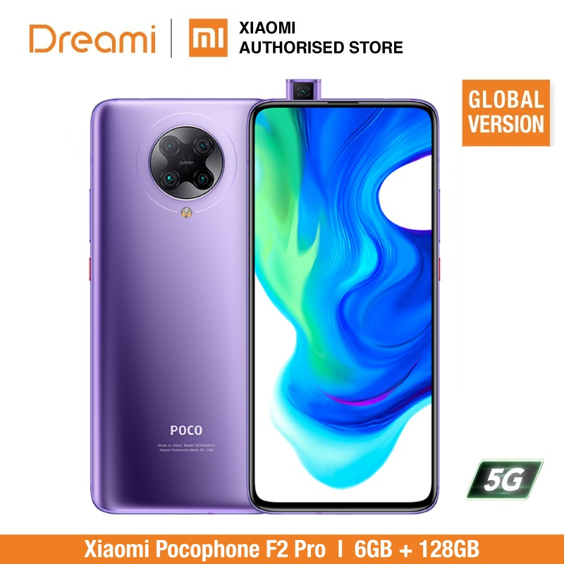 Versión Global Xiaomi teléfono móvil F2 Pro 6GB de RAM 128GB ROM (marca nuevo/sellado) poco... pocof2... pocof2pro 128 teléfono móvil 5G Original versión Global Lenovo Z5s 6GB 64GB Snapdragon 710 Octa Core Smartphone 6,3 pulgadas AI Triple cámara trasera Android P Face ID