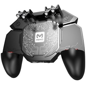 DL88 PUBG Game Controller Gamepad Six Finger Semiconductor Refrigeration Trigger Joystick Gamepad For Mobile Phone IOS Android
