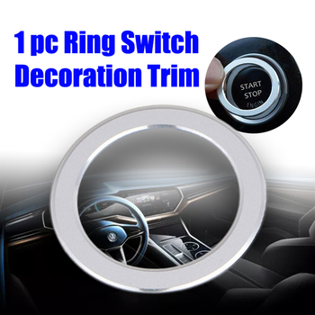 Car Decor Switch Decoration Trim For BMW 3 Series E90 Engine Start/Stop Button Car Styling image