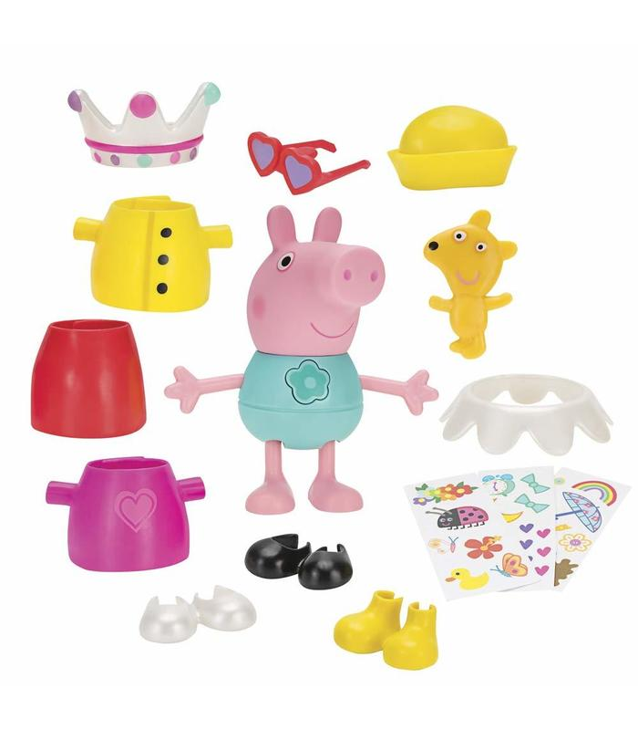 Peppa Pig Dresses Funny Multicolour Toy Store Articles Created Handbook