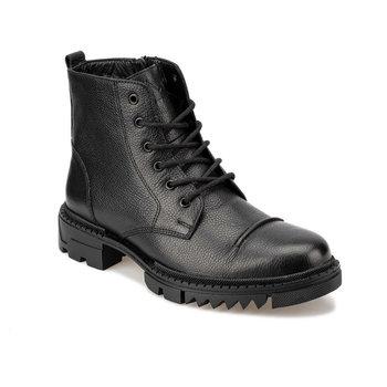 FLO NESTA 9PR czarne męskie buty KINETIX tanie i dobre opinie Podstawowe Sztuczna skóra ANKLE