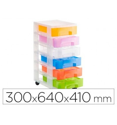 FILE DRAWERS FLOOR FILE 2000 TRANSLUCENT 6 DRAWERS COLORS TRANSLUCENT ASSORTED WITH WHEELS