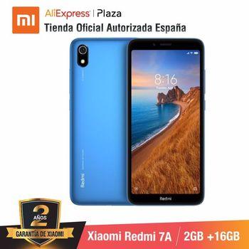 [Versione globale per la Spagna] Xiaomi Redmi 7A (Memoria interna da 16 GB, di RAM da 2 GB, Camara de 13MP + 5 MP)