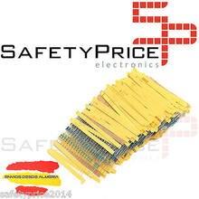 50x RESISTENCIAS 2 KOHM 1% 1/4w 0,25w carbon film pelicula Electronica Arduino