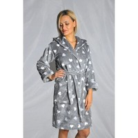 Elite Bambo Lady Bathrobe Welsoft Thick Soft ELT108