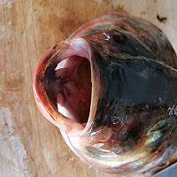 白玉菇海带鱼头汤的做法图解1