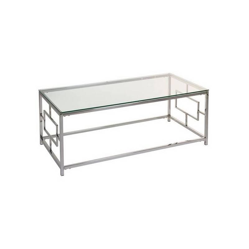 Coffee Table Vel Crystal (120x60x45 Cm)