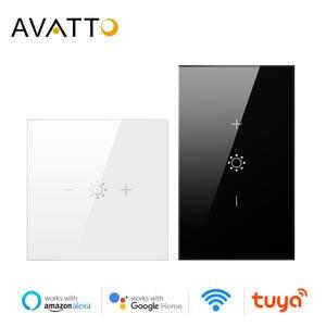 AVATTO Touch Dimmer Light-Switch Remote-Control Google-Assistant Wifi Alexa Amazon Eu/Us-Tuya