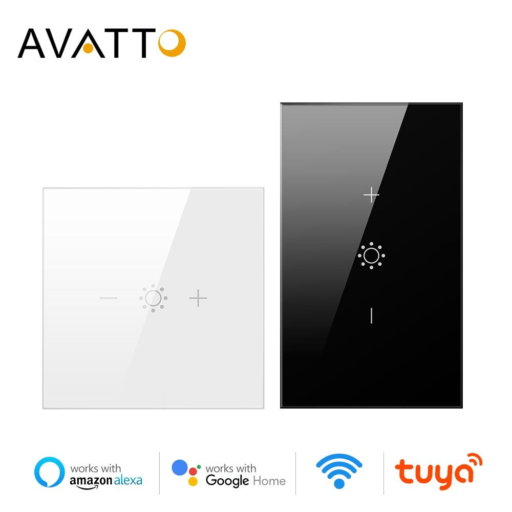 se necesita alimentaci/ón neutra Interruptor de pared de panel de vidrio compatible con Alexa//Tuya UK 2 Gang 1 Way Blanco BSEED inteligentes con sensor t/áctil de WiFi