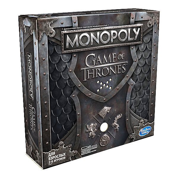 """Board Game Hasbro Gaming """"Monopoly"""" Game Of Thrones"""