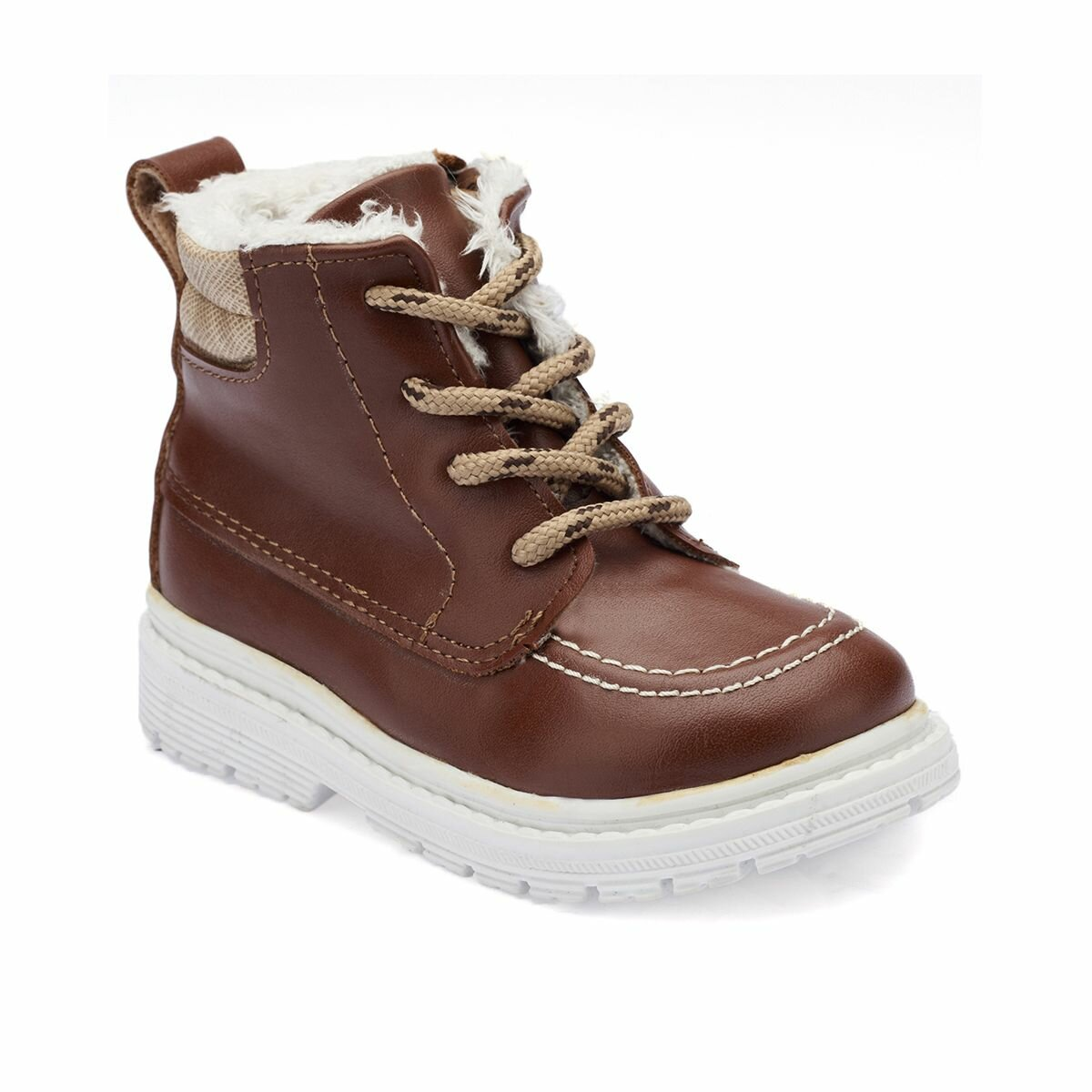 FLO 82.509575.B Brown Male Child Boots Polaris
