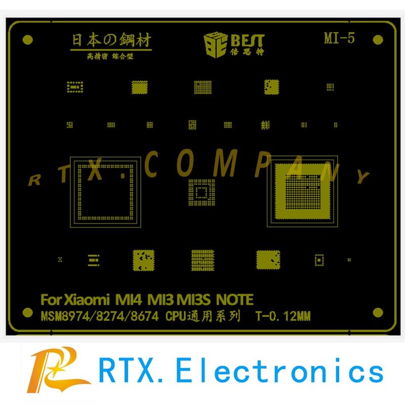 BAG Solder Reaballing Stencil For XIAOMI 5X/MAX2/MAX/3/3S Redmi Note 4X NOTE2 NOTE3 2 2A 4 4A 5A 5Plus S2 NOTE5 Pro MIX MIX2 MI8