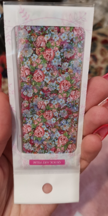 10 Sheets/Set Nail Art Foil Stickers Colorful Flower Beauty Patterns Transfer Decals Paper Nail DIY Design Decoration Tips reviews №1 12944