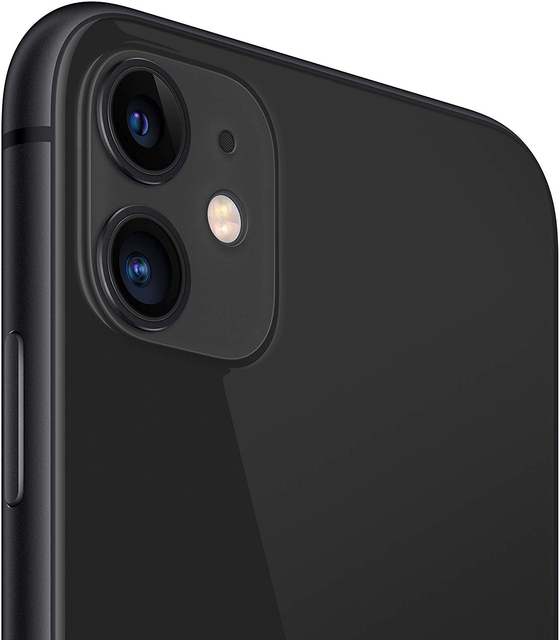 "Apple iPhone 11 Smartphone (64 GB ROM, 4 GB RAM, Black Color, 12 MP Rear Camera, 12 MP Selfie Camera, 6.1 ""Screen, iOS System, New, Free, Cheap) [Mobile Phone EU Version] Plaza España, Mobile, Mobile, Mobile Phone Free 4"