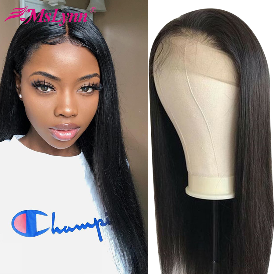 Peluca Frontal de encaje de 360 pelucas de cabello humano peluca Frontal de encaje recto pelucas brasileñas para mujeres negras cabello Remy-in Peluca de encaje de cabello humano from Extensiones de cabello y pelucas on AliExpress - 11.11_Double 11_Singles' Day 1