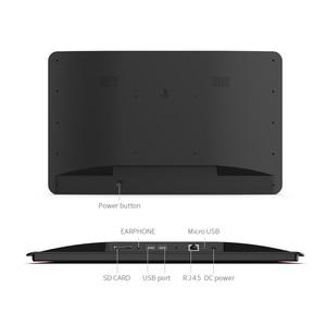 Image 4 - 10,1 дюймовый Android 8,1 PoE настенный планшетный ПК светодиодный светодиодными полосками для конференц зала, Расписание, дисплей с открытым исходным кодом