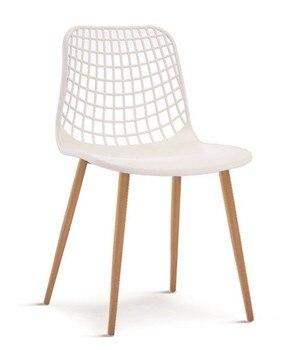 Chair MONICA metal white polypropylene