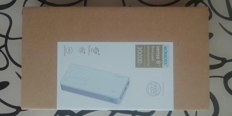30000mAh ROMOSS Sense 8 + Power Bank Portable External Battery QC two way fast charging portable external Akku|Power Bank|   - AliExpress