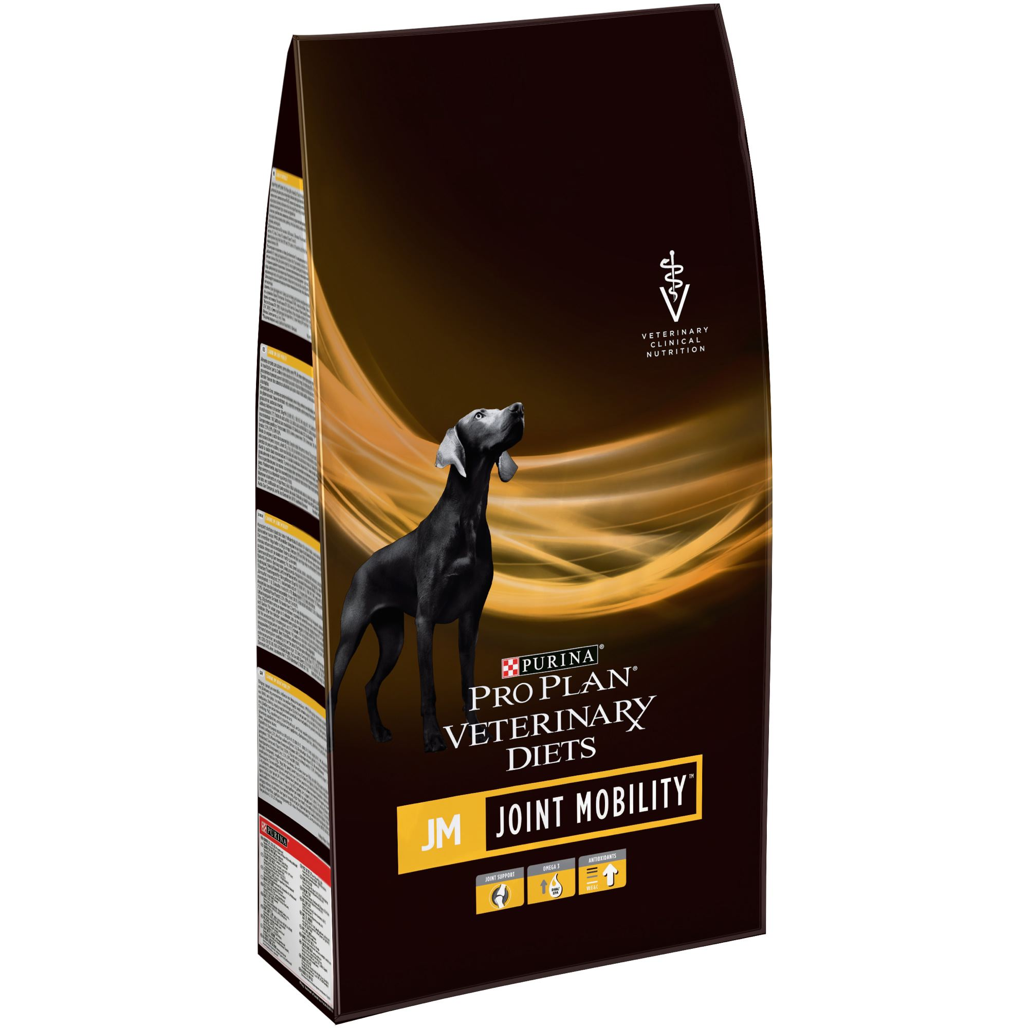 Set of dry food Pro Plan Veterinary diets JM dog food for diseases of the joints, 2 packs of 3 kg