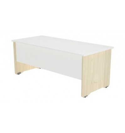 OFFICE TABLE SERIALS WORK 160X80 BEECH/WHITE