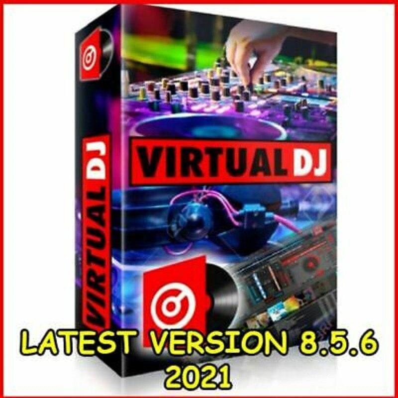 Контроллер для смешивания программного обеспечения Virtual DJ Pro Infinity 2021 8.4.5, последняя версия