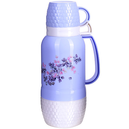 Thermos 1. 8L St/flask + 2 mugs ...