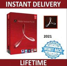 Adobe Creative Cloud – Acrobat Pro DC 2020, modèle x64 Bit, multilingue, tout-en-un, livraison rapide, gratuit à vie