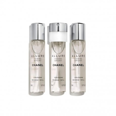 ALLURE HOMME SPORT COLOGNE RECHARGES SPRAY 3 X 20ML