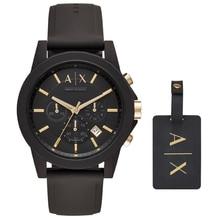 Original Armani Exchange Men's Chronograph Dress Watch Men's