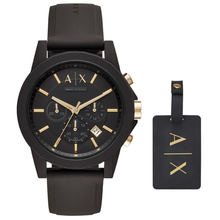 Original Armani Exchange Men's Chronograph Dress Watch Men's