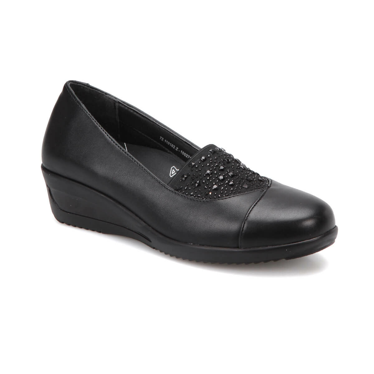 FLO 72. 110102.Z Black Women Shoes Polaris 5 Point