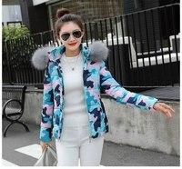 Winter Jacket Women Coats Artificial raccoon hair collar Female Parka black Thick Cotton Padded Lining Ladies S 3XXXL