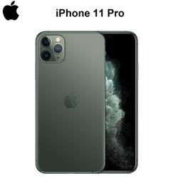 Оригинальный новый iPhone 11 Pro/Pro Max Тройная задняя камера 5,8/6,5 супер AMOLED дисплей A13 Чипсет IOS 13 смартфон MI BlueTooth