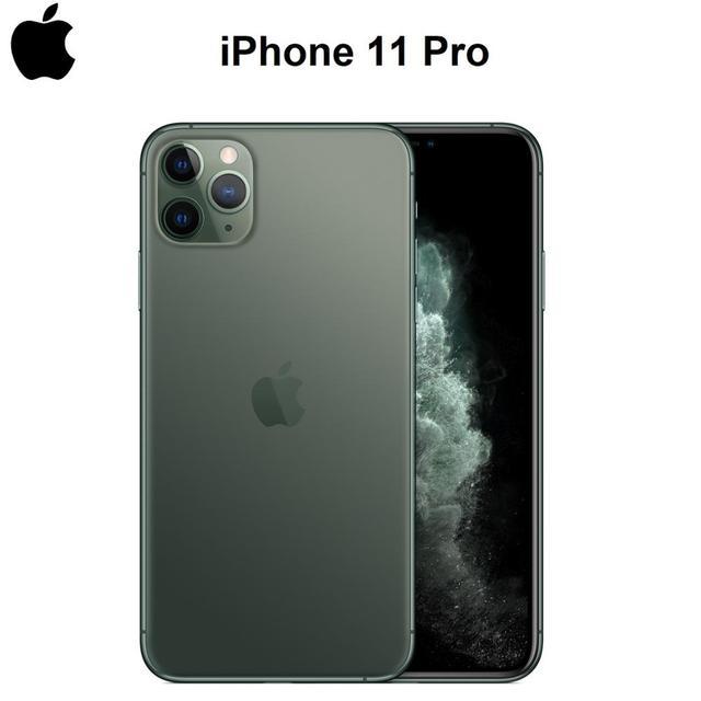 original new iphone 11 pro/pro max triple rear camera 5.8/6.5″ super amoled display a13 chipset ios 13 smart phone mi bluetooth