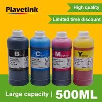 Plavetink 잉크 병 500ml 프린터 잉크 리필 키트 Canon PGI 550 CLI 551 XL Pixma MG6350 MG7150 IP8750 MG-6350 카트리지