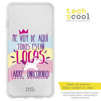 FunnyTech®Stand case for Huawei Y6 Silicone 2018/Honor 7A L Frase Unicorn
