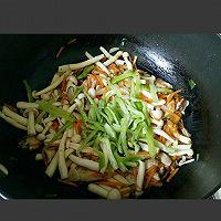 素炒白玉菇的做法图解12