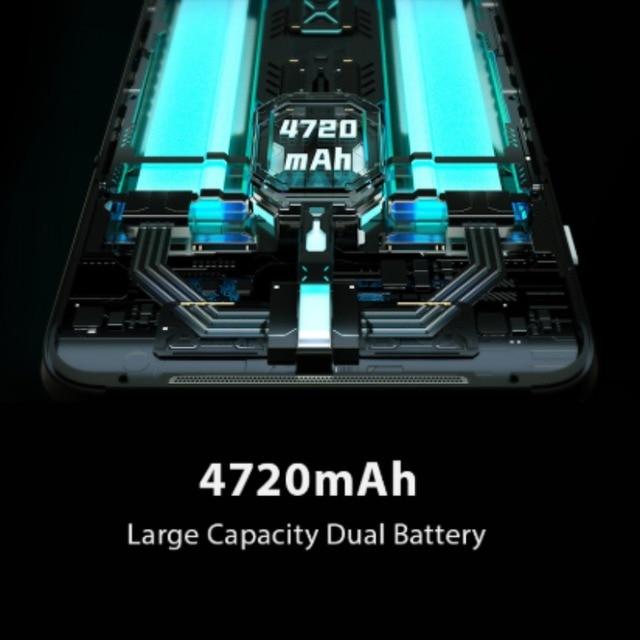 EU Version Black Shark 3 5G 128GB Rom 8GB Ram ,5G Gaming phone [Newly Launch Promo] Smartphone Mobile blackshark3