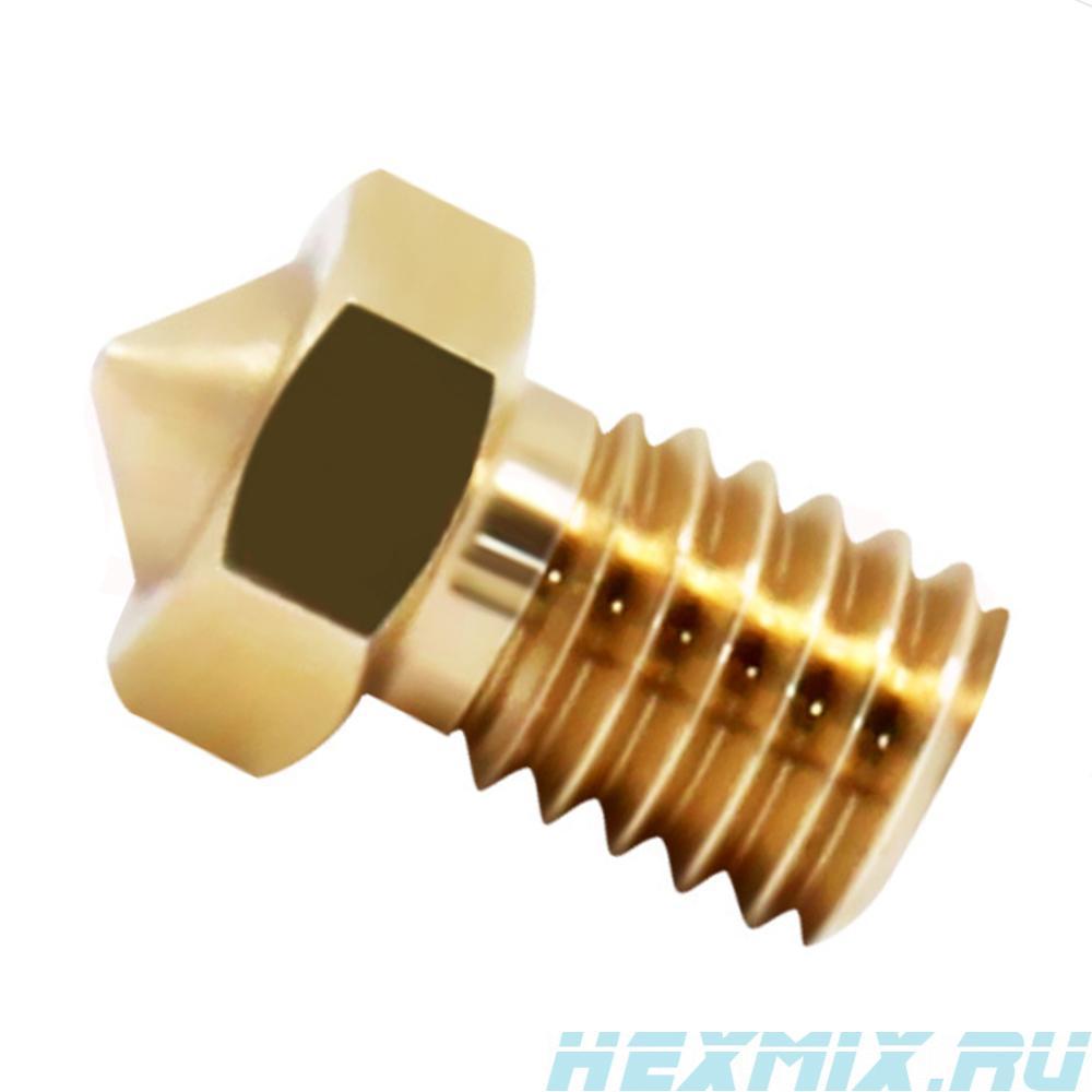 3D Nozzle V6v5 0.1-1.0mm Under Filament 1.75mm (diameter-0.6 Mm)
