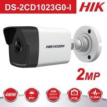 цена на 2017 HiK New 1080P Security Camera  DS-2CD1021-I 2MP DWDR IP Camera Ourdoor